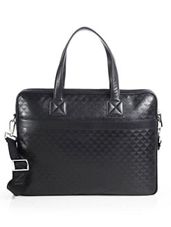 Emporio Armani - Vitello Laptop Case