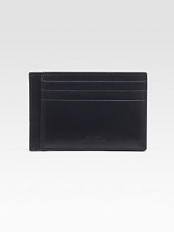 Bally - Leather Credit Card Case