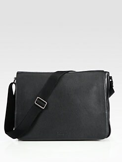BOSS Black - Buffalo 2 Leather Messenger Bag