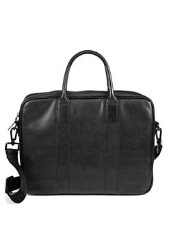 BOSS Black - Buxton 2 Leather Work Bag