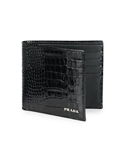 Prada - Stamped Leather Wallet