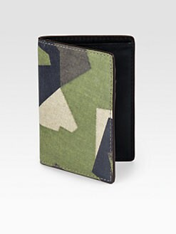 Jack Spade - Swedish M90 Camo Vertical Flap Wallet