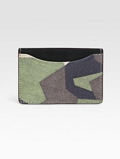 Jack Spade - Camo Credit Card Holder