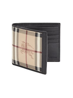 Burberry - Leather Bill Holder