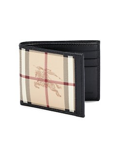 Burberry - Check Hipfold Wallet