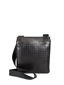 Salvatore Ferragamo - Gamma Leather Shoulder Bag