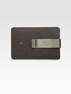 Salvatore Ferragamo - Leather Credit Card Case/Money Clip