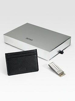 BOSS Black - Card Holder and Money Clip Giglior Gift Box