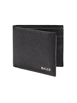 Bally - Leather Billfold Wallet