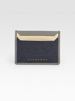 Burberry - Tri-Color Card Holder