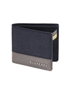 Burberry - Tri-Color Hipfold Wallet