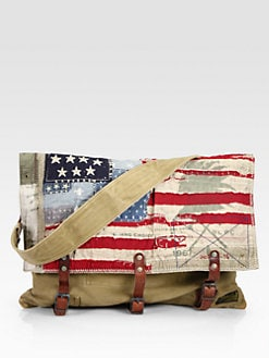 Polo Ralph Lauren - Cotton Flag Messenger Bag