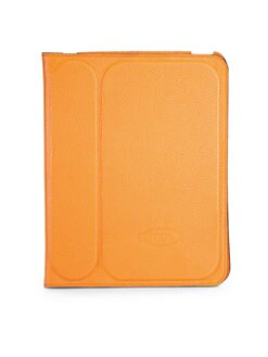 Tod's - Stamped Leather Case for iPad 2