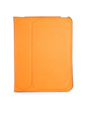 Stamped Leather Case for iPad 2