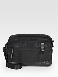 Porter - Zipped Shoulder Bag