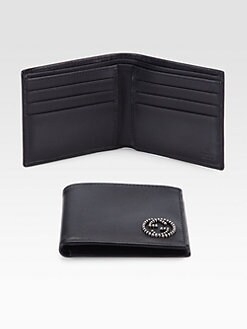 Gucci - Leather Bi-Fold Wallet