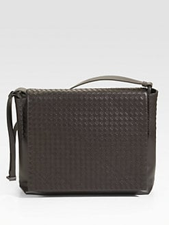 Bottega Veneta - Woven Messenger