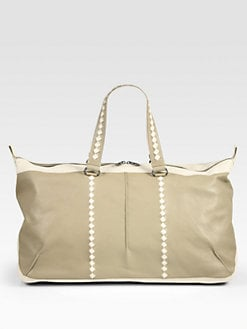 Bottega Veneta - Leather Duffel Bag