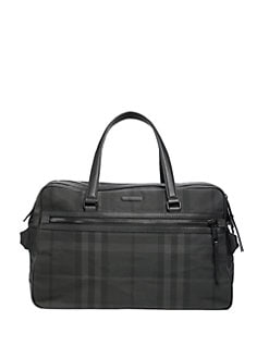 Burberry - Nylon Check Briefcase