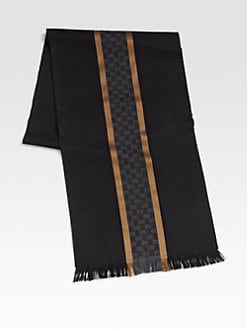 Gucci - Silk/Wool Scarf