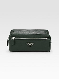Prada - Leather Travel Case
