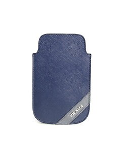 Prada - Saffiano Leather iPhone Case