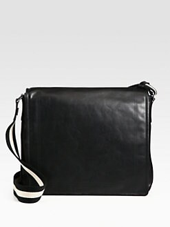 Bally - Leather Messenger Bag