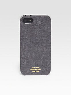 Jack Spade - Book Cloth Case for iPhone 5