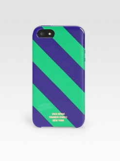 Jack Spade - Repp Striped Case for iPhone 5