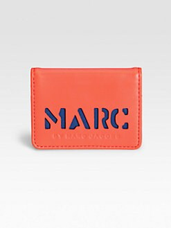 Marc by Marc Jacobs - Logo Leather Wallet