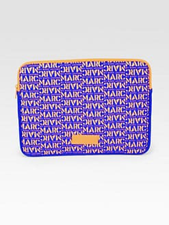 Marc by Marc Jacobs - Logo-Patterned Neoprene Laptop Case
