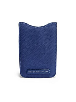Marc by Marc Jacobs - Leather Tech Phone Sleeve
