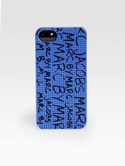Marc by Marc Jacobs - Printed Perforated iPhone 5 Case