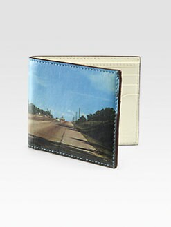 Jack Spade - Fort Leonard Leather Bill Fold