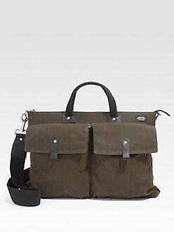 Jack Spade - Waxwear Pocket Briefcase