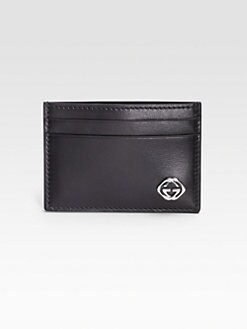 Gucci - Leather Card Case