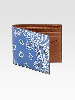 Jack Spade - Printed Leather Billfold