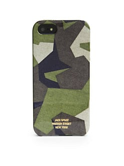 Jack Spade - Camo Print Hard-Shell Case for iPhone 5