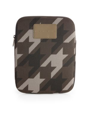 Houndstooth Mesh Tablet Case