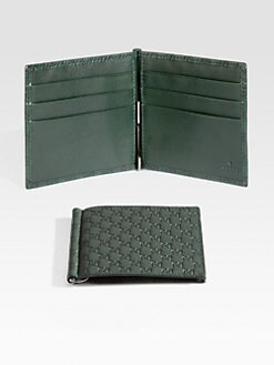 Gucci - Microguccisima Money Clip Wallet