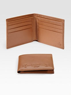 Gucci - Leather Selleria Wallet