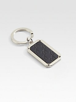 Gucci - Microguccisima Leather Key Ring