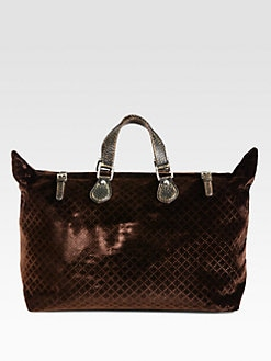 Gucci - Goldmark Velvet Diamante Tote