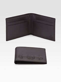 Gucci - Slim Embossed Wallet
