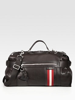 Bally - Perforated Duffel Bag