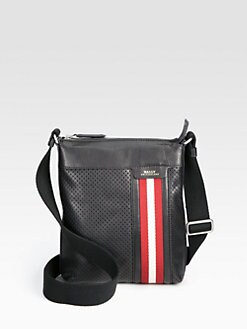 Bally - Perforated Crossbody Messenger