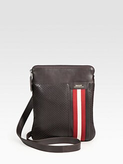 Bally - Perforated Flat Crossbody Bag