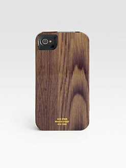 Jack Spade - Woodgrain Case for iPhone 4/4S