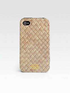Jack Spade - Basketweave Case for iPhone 4/4S