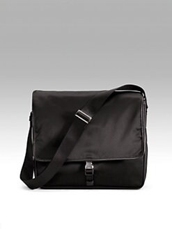Prada - Single-Clip Messenger Bag